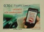Sellos del Mundo : Europa : España :  atento a la conduccion