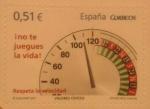 Sellos de Europa - España -  no te juegues la vida