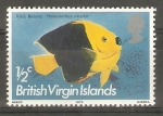 Stamps America - Virgin Islands -  HOLACANTHUS   TRICOLOR