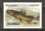 Stamps Uganda -  BAGRUS   DOGMAC