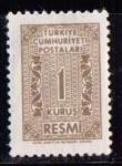 Sellos de Asia - Turquía -  Bássica