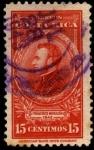 Stamps Costa Rica -  Francisco Morazán.