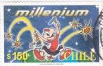 Stamps Chile -  Milenium