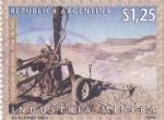 Sellos de America - Argentina -  industria minera
