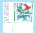 Stamps Germany -  Expo 2000 - Hannover
