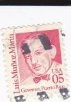 Sellos del Mundo : America : Estados_Unidos : Luis Muñoz Marín-Governador de Puerto Rico
