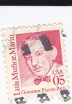 Stamps United States -  Luis Muñoz Marín-Governador de Puerto Rico