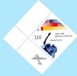 Stamps : Europe : Germany :  50 Aniversario del Puente Aereo a Berlín