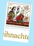 Stamps : Europe : Germany :  Navidad - Visita de los pastores