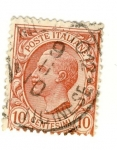 Stamps Italy -  Victorio Emanuele III Ed 1906