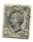 Stamps Italy -  Victorio Emanuele III Ed 1906