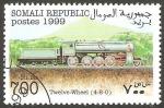 Sellos de Africa - Somalia -  Locomotora