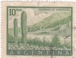 Sellos de America - Argentina -  quebrada de Humahuaca