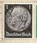 Sellos de Europa - Alemania -  Presidente Hindenburg