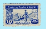 Stamps Spain -  Cartero Rural