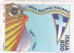 Stamps Italy -  lega navale italiana