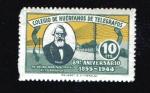Stamps : Europe : Spain :  Efigie Samuel Morse