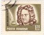 Sellos de Europa - Rumania -  j.Swift- escritor irlandés