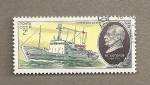 Stamps Russia -  Barco Profesor Bogorov