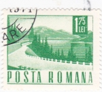 Stamps : Europe : Romania :  carretera