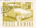 Sellos del Mundo : Europa : Rumania : transporte- automovil