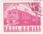 Stamps : Europe : Romania :  transporte  -tren