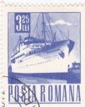 Sellos del Mundo : Europa : Rumania : transporte  -barco