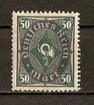 Sellos del Mundo : Europa : Alemania : Rp. Weimar / Corneta Postal.