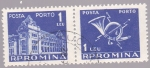 Stamps : Europe : Romania :  edificio de correos