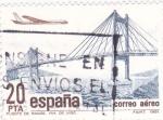 Stamps Spain -  Puente de Rande ,ria de Vigo   (A)