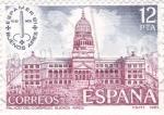 Stamps Spain -  Palacio del Congreso (Buenos Aires)   (A)