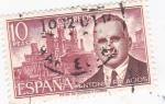 Sellos de Europa - España -  Antonio Palacios   (A)