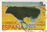 Stamps Spain -  Expo-88  Pabellón de España   (A)
