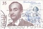 Sellos de Europa - España -  Grabadores españoles- A.Manso Fernández    (A)