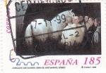 Sellos de Europa - España -  caballos cartujanos( 3684)                (A)