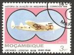 Stamps Mozambique -  Avión