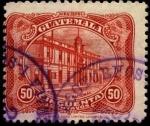 Stamps America - Guatemala -  El Correo nacional. UPU 1926