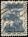 Stamps America - Guatemala -  Alegoría de la revolución del 20 de octubre de 1944.