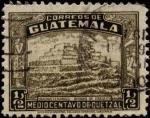 Sellos de America - Guatemala -  Ruinas de Zakuleu.