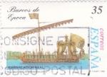 Sellos de Europa - España -  Barcos de Epoca- embarcación Real    (A)