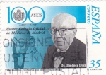 Sellos de Europa - España -  100 años Ilustre Colegio Oficial de Médicos de Madrid- Dr. Jiménez Díaz    (A)