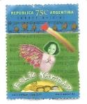 Stamps : America : Argentina :  Navidad