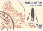 Stamps Spain -  Ciencia y tecnología- Esteban Terradas    (A)