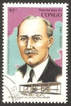 Stamps : Africa : Republic_of_the_Congo :  Orville Wright