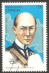 Stamps : Africa : Republic_of_the_Congo :  Wilbur Wright