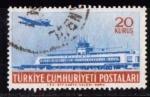 Sellos de Asia - Turquía -  Aeropuero