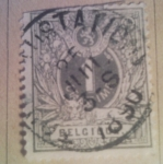 Sellos del Mundo : Europa : Bélgica : BELGIQUE 1869