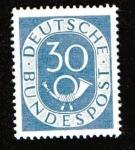 Stamps Germany -  Corneta Postal