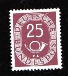 Sellos de Europa - Alemania -  Corneta Postal
