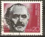 Sellos de Europa - Alemania -  GEORGE   DIMITROV